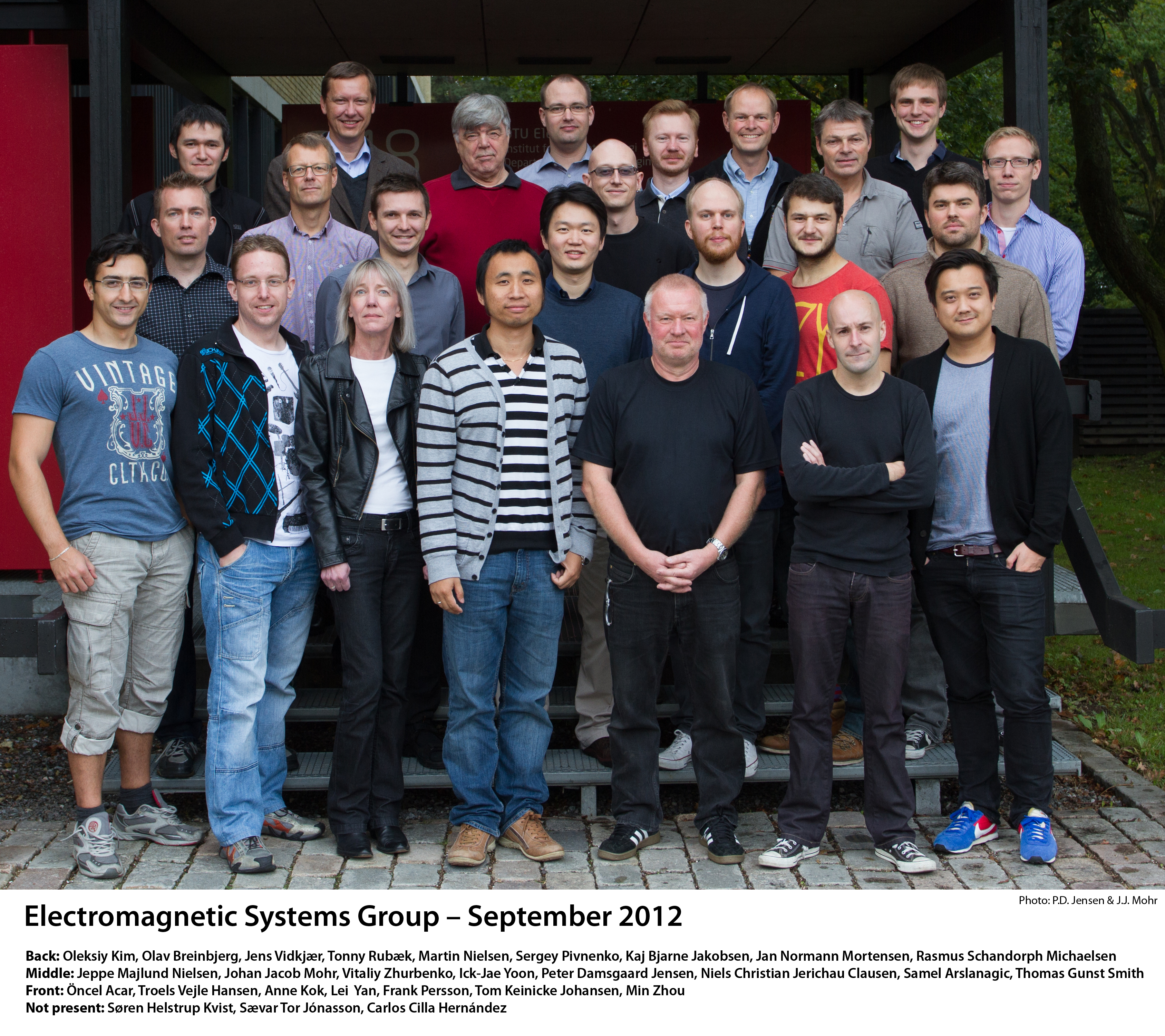 Electromagnetic Group September 2012