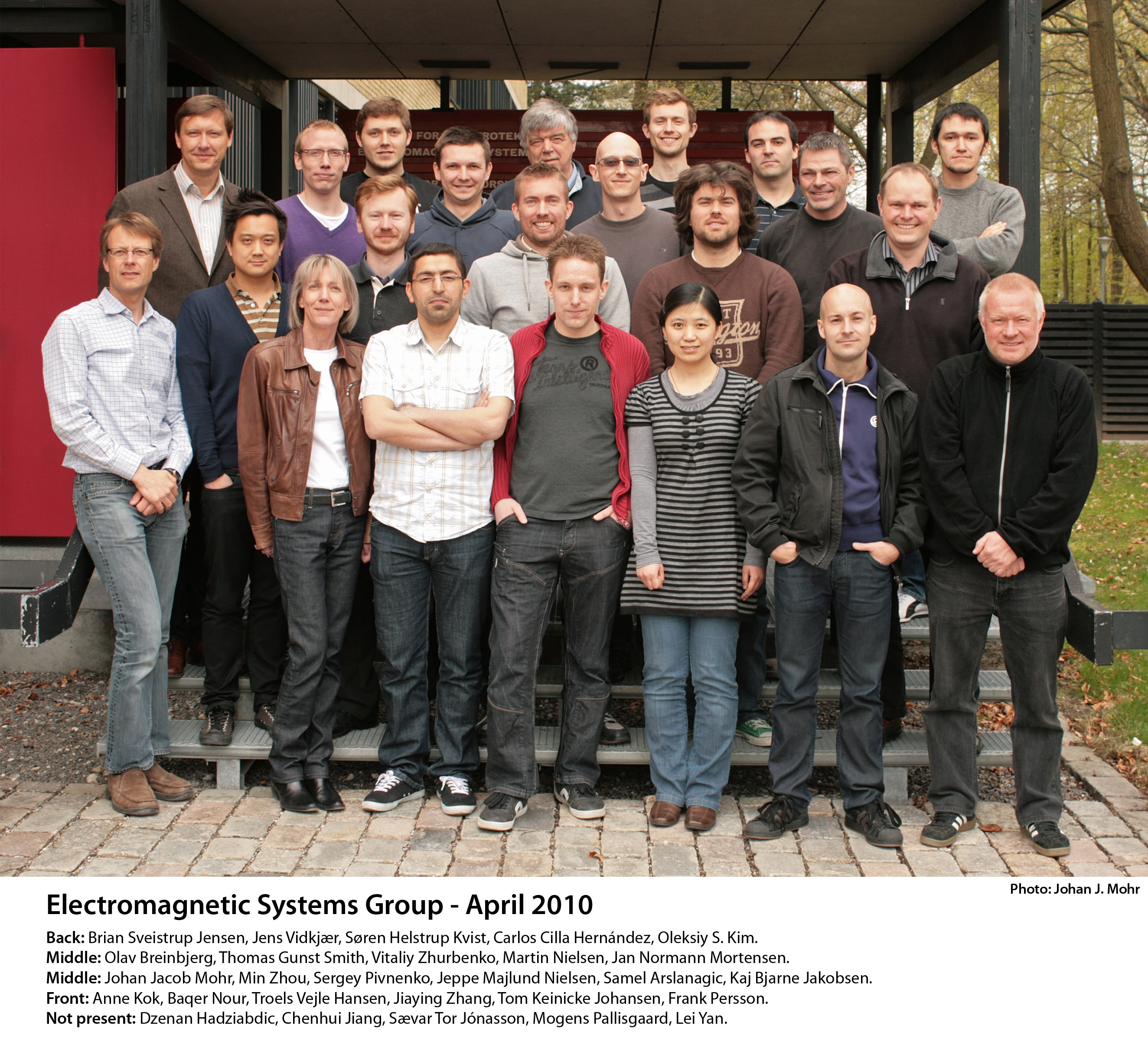 Electromagnetic Group September 2010